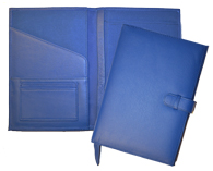 Leather Journals for Women Blue
