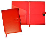 Leather Journals for Women Red